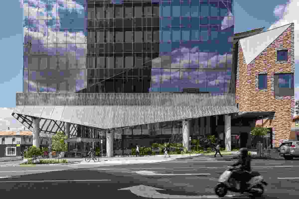 900 Ann Street, Brisbane by John Wardle Architects.