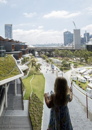 Darling Harbour Transformation by Hassell / Hassell and Populous.