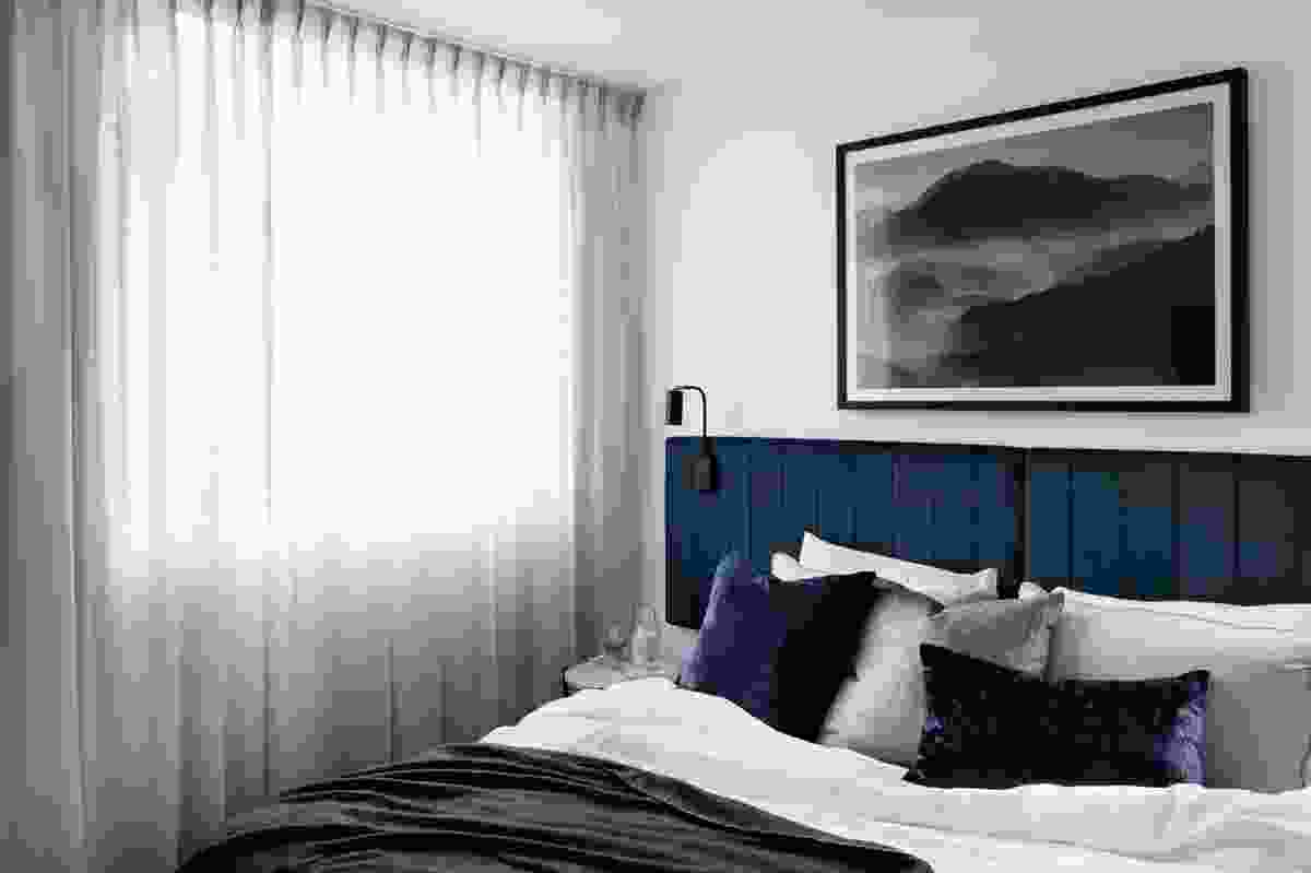 Quest Penrith guest room, designed by DKO.