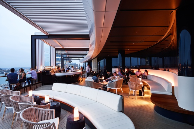 Zephyr, Hyatt Regency Sydney by Bates Smart.