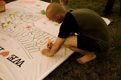 Collaborative Action Plan by CoDesign Studio and UDLA for Karawara Public Open Space.