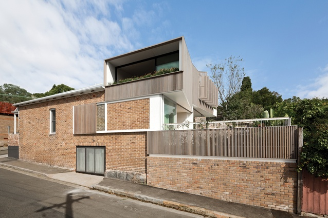 Balmain Houses (NSW) by Benn and Penna Architecture.