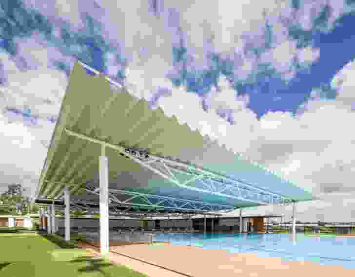 Blackwater Aquatic Centre by Liquid Blu Architects.