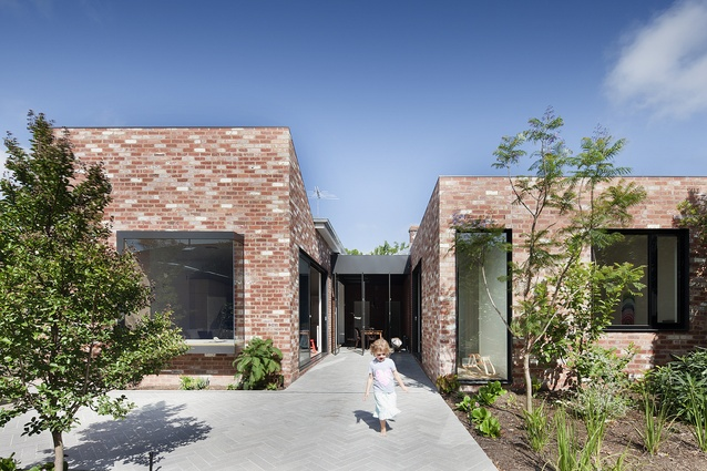 Saint Kilda House (Vic) by Clare Cousins Architects.