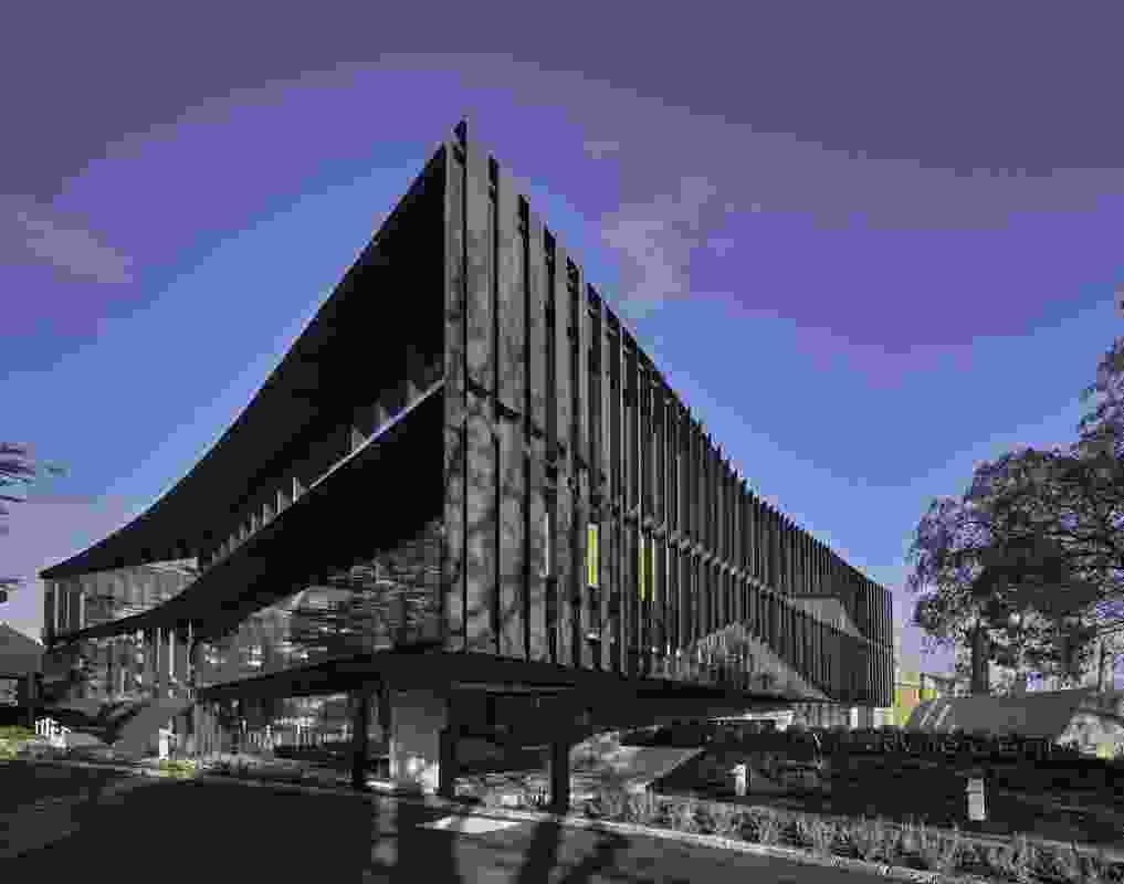 The Mandeville Centre, Loreto Toorak (VIC) by Architectus.