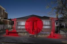 Ian Strange turns condemned suburban house into temporary gallery