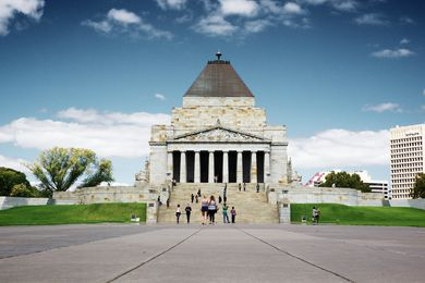 The Shrine of Rememberance.