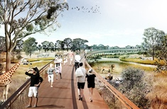 NSW Planning Comission gives nod to new, 'fence free' zoo in western Sydney