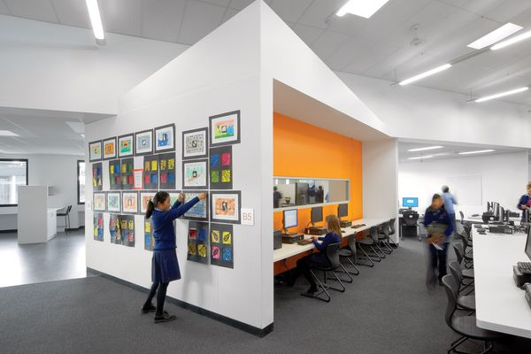 Dandenong High School, designed by Mary Featherston Design.