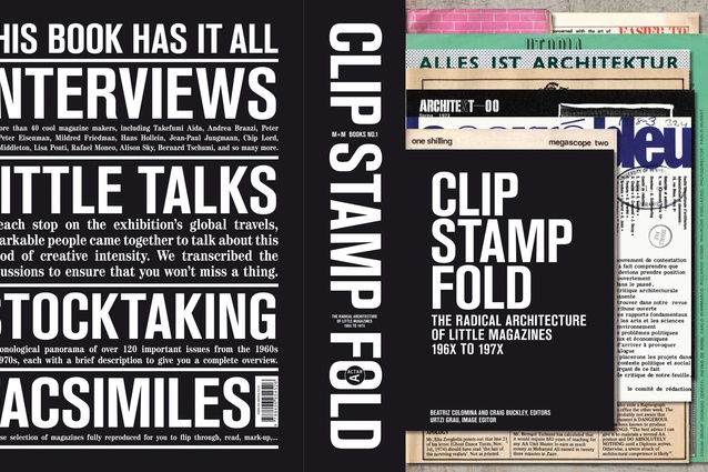 <em>Clip Stamp Fold: The Radical Architecture of Little Magazines 196X to 197X</em>.