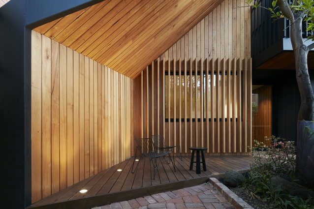 Screen House by Nixon Tulloch Fortey Architecture.