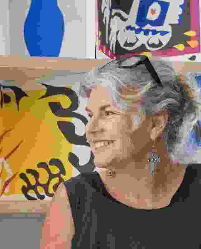 Sue Barnsley of Sue Barnsley Design.