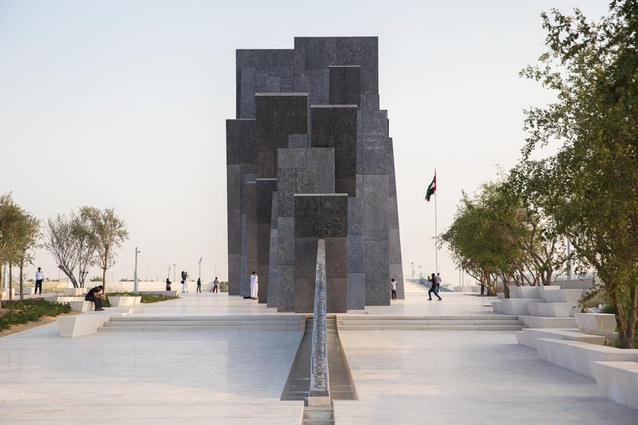 Wahat Al Karama (Oasis of Dignity) by Idris Khan with Bureau Proberts and UAP (Urban Art Projects).