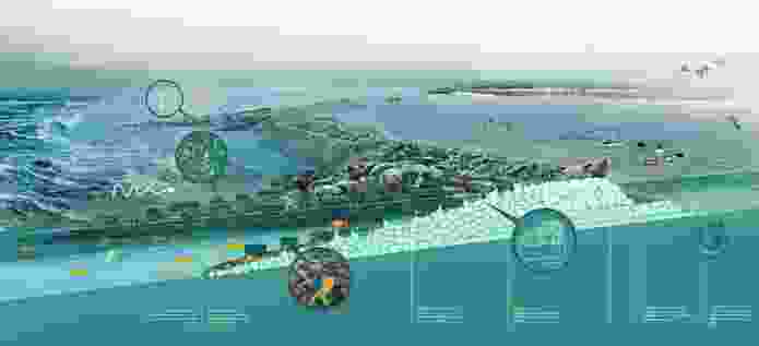 The Living Breakwaters project by Scape was created for the Rebuild by Design competition.