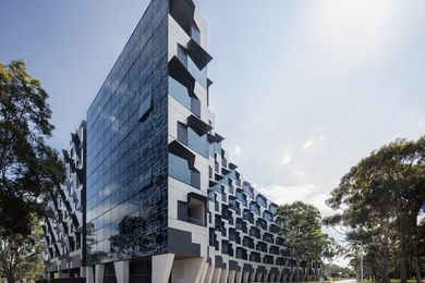 Monash University Logan Hall by McBride Charles Ryan received the Best Overend Awards for Residential Architecture – Multiple Housing in the 2016 Victorian Architecture Awards.