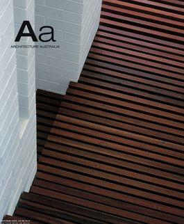 Architecture Australia, July 2003