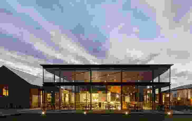 Glasshouse at Goonoo Goonoo Station by TKD Architects.