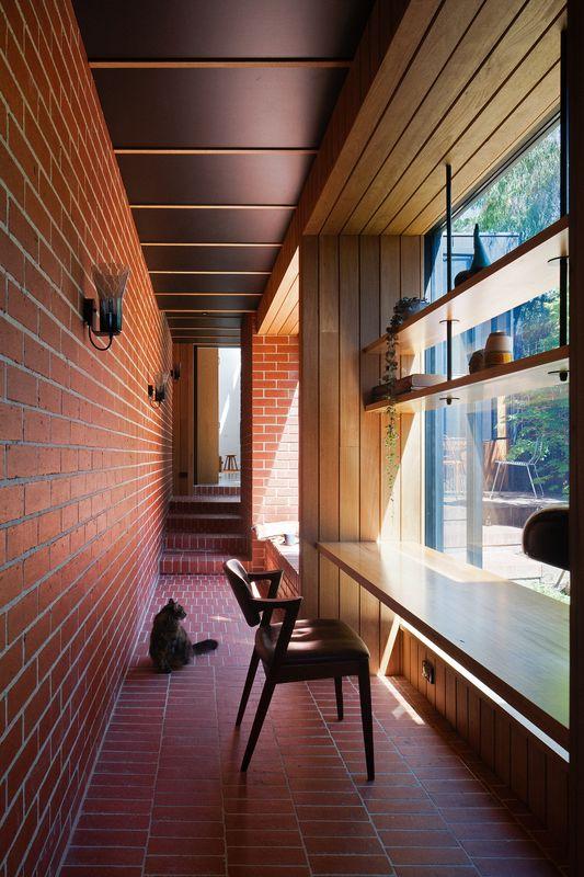 The Long Hall Carlton Cloister Architectureau
