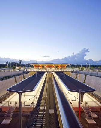 South West Rail Link - Edmondson Park / Leppington Station by Hassell in association with GHD.