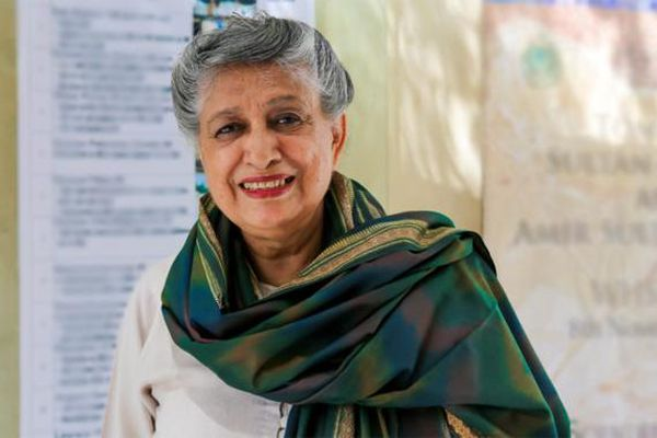 Pakistan's first woman architect Yasmeen Lari.