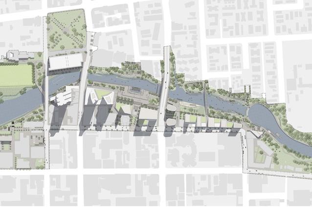 Parramatta City River Strategy by McGregor Coxall.