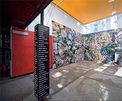 The Venezuelan Pavilion at the Venice Architecture Biennale. Photograph John Gollings.