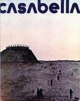 AA Diploma project – Dorset Analogue Landscape (Peter Wilson + Jeanne Sillett, Diploma Prize, 1974). Cover <em>Casabella</em> 412, April 1976.