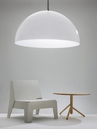 Dome Light, Butter Seat and Stem Table by DesignByThem.
