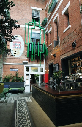 The Fox Hotel Heineken Installation by Design Clarity