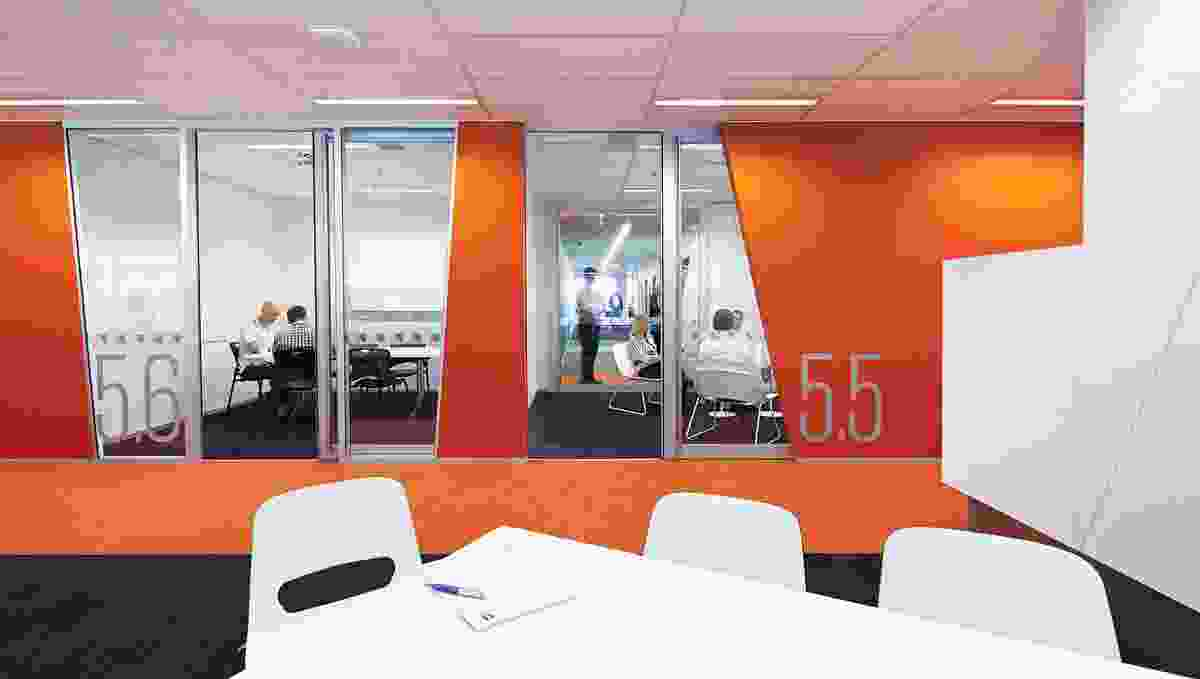 Colour in Commercial Design – Technology One by Hassell.