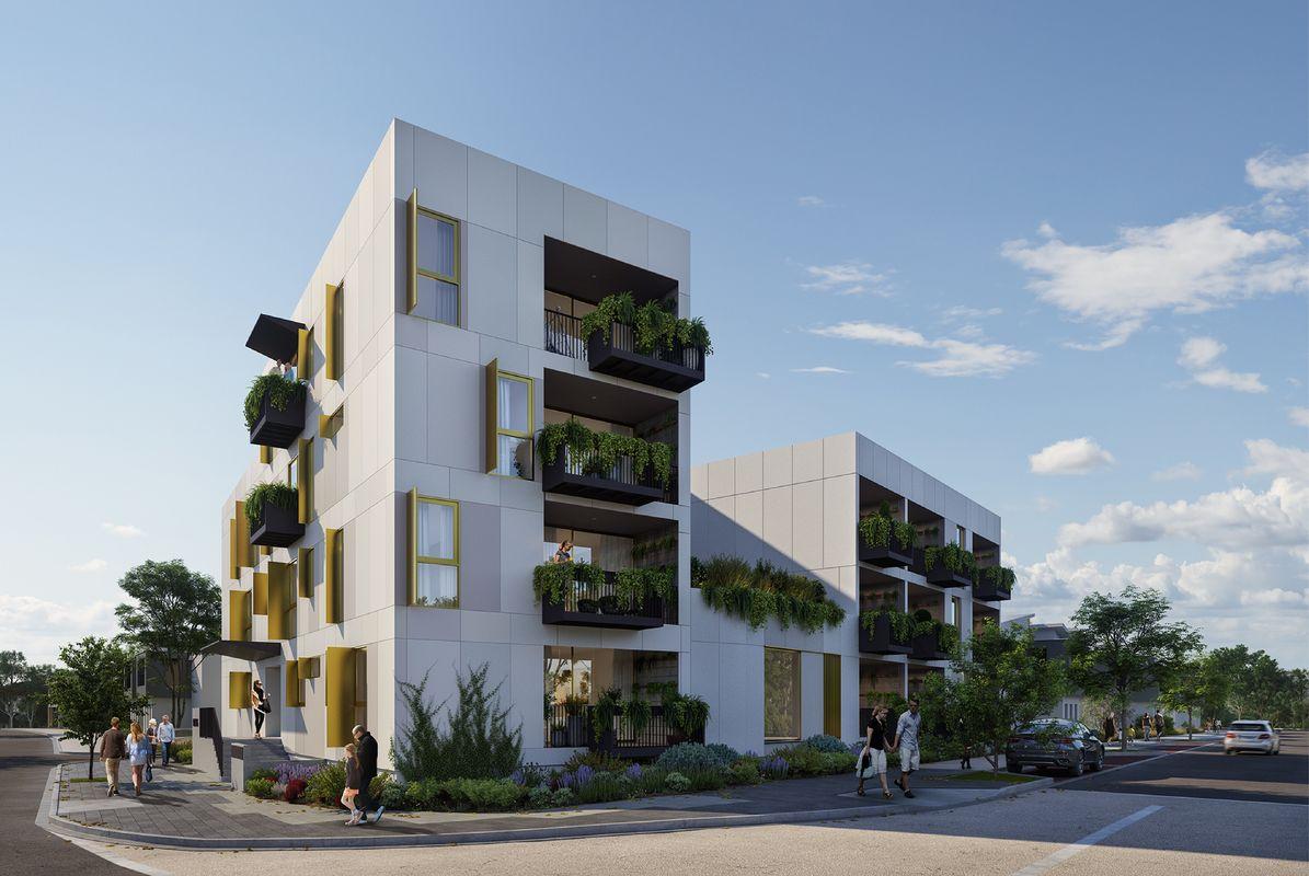 Zero-energy, prefab apartment design wins WA medium-density
