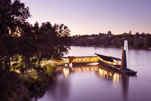 Brisbane CityCat Ferry Terminals Renewal by Cox Rayner Architects with Aurecon.