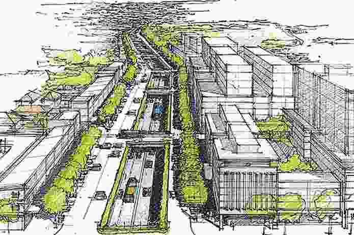 The recent Infrastructure NSW blueprint for Parramatta Road.