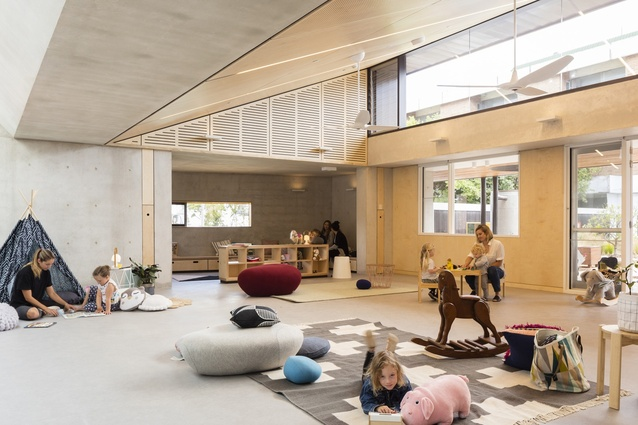 Waranara Early Learning Centre for the City of Sydney by Fox Johnston.