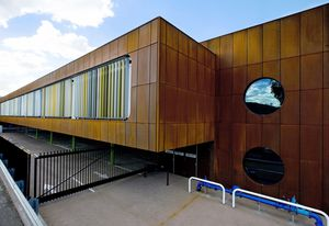 Green Well Building by Susan Dugdale & Associates received the The Tracy Memorial Award in the 2013 NT Architecture Awards.