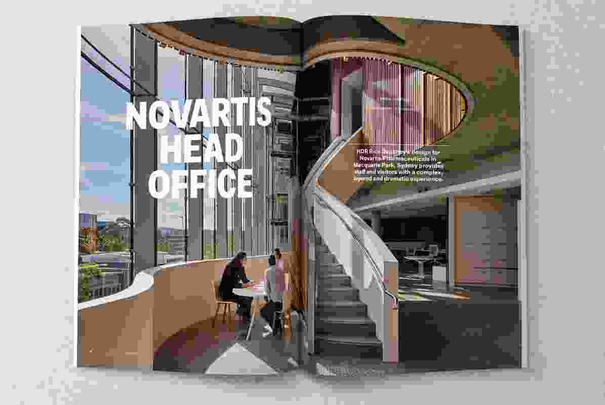 Novartis Head Office by HDR Rice Daubney.
