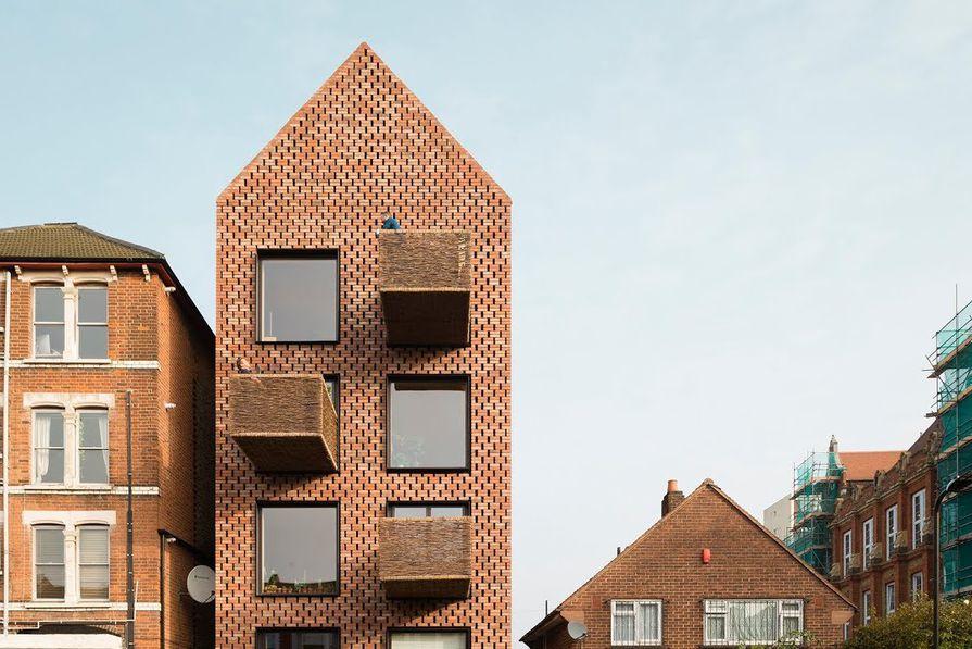 Barrett's Grove, London, by Amin Taha Architects.