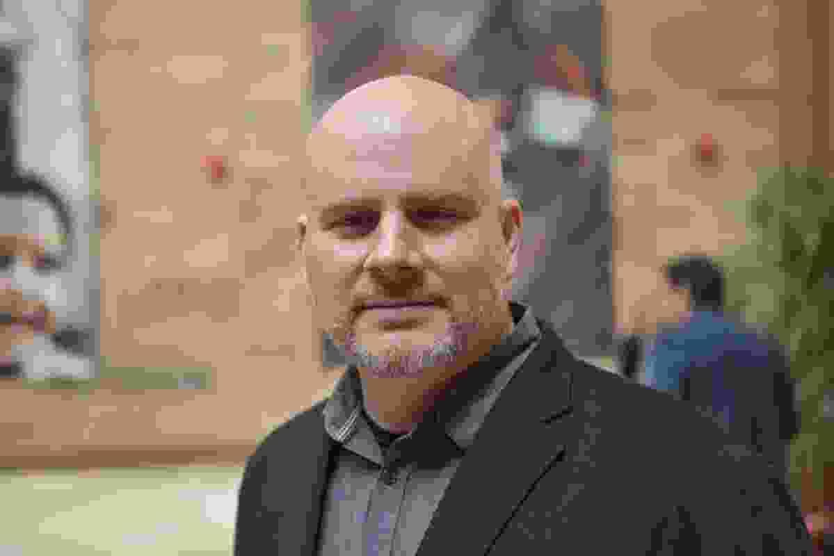 American architect and urban planner Mitchell Joachim.