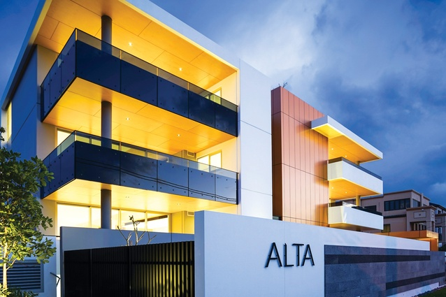 Boutique apartment developments such as Alta, Main Beach (2015) by Willemsen Architecture are contributing positively to the reputation of Gold Coast architecture.
