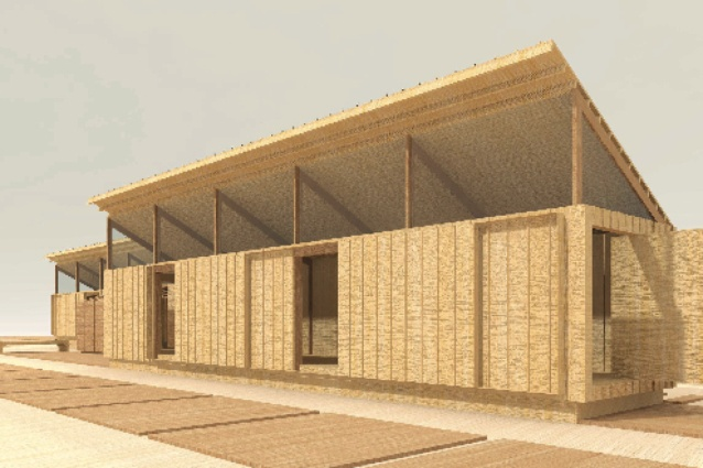 The proposal by Architectus.