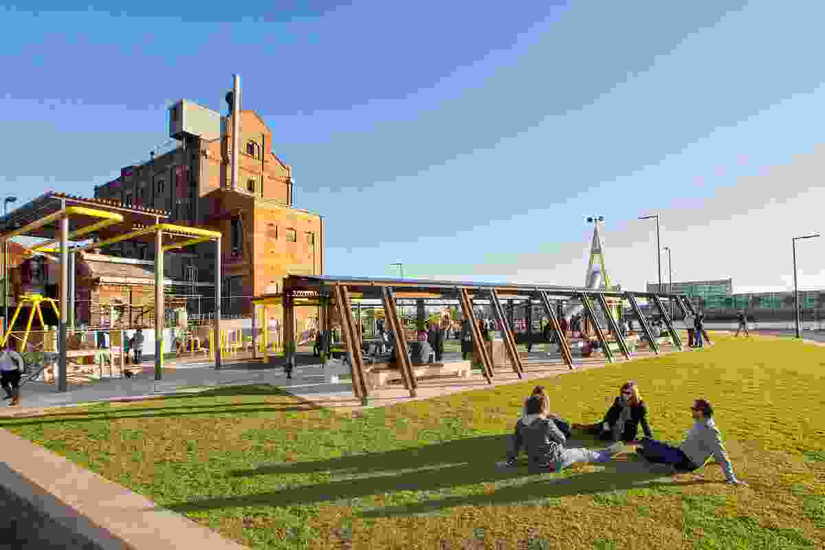 Port Adelaide Renewal: Hart's Mill Surrounds by Aspect Studios.