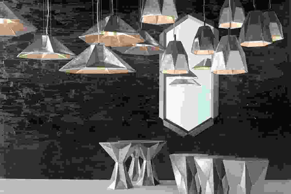 Gem collection by Tom Dixon at MOST, Milano 2013.