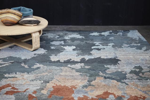 modern nepali bamboo nepal rug wool designers designer hand rugs silk knotted