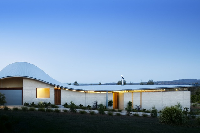Hunter Valley House by James Stockwell Architects.