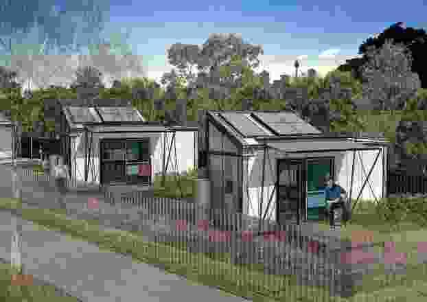 由NBRS架构设计的小型住宅基金会试点项目。
