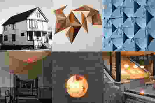 Collage of imagery from the exhibition An Interior Affair: A State of Becoming.