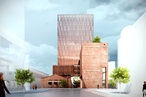 Wardle-designed new office tower lends hand to homeless