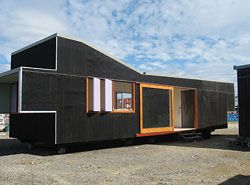 "Donovan Hill's ""Post Fab Housing"" offers a solution for remote and transportable housing."