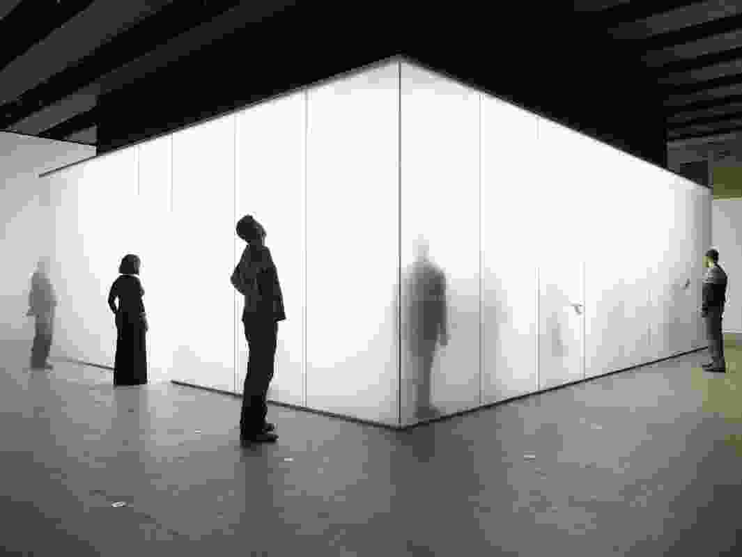 Blind Light exhibition with Antony Gormley, 2007.