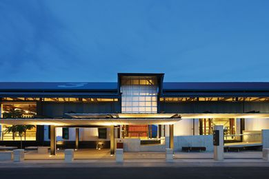 Cairns Cruise Terminal by Arkhefield.